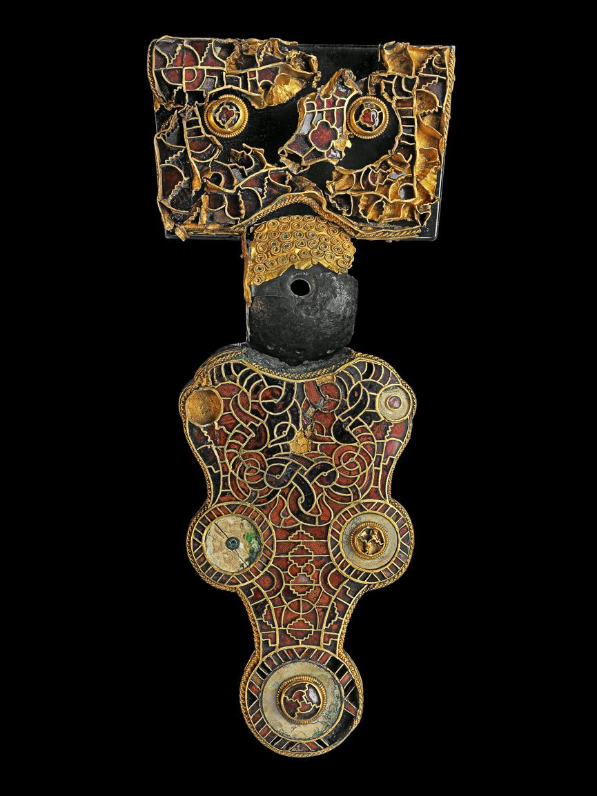 Fibula van wijnaldum (Coll. Fries Museum)